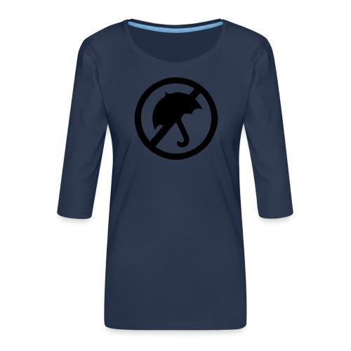 rainmakerlogo - Naisten premium 3/4-hihainen paita