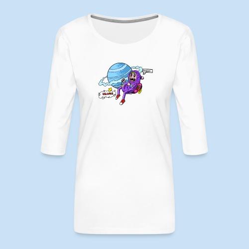 Prepare Uranus - Frauen Premium 3/4-Arm Shirt