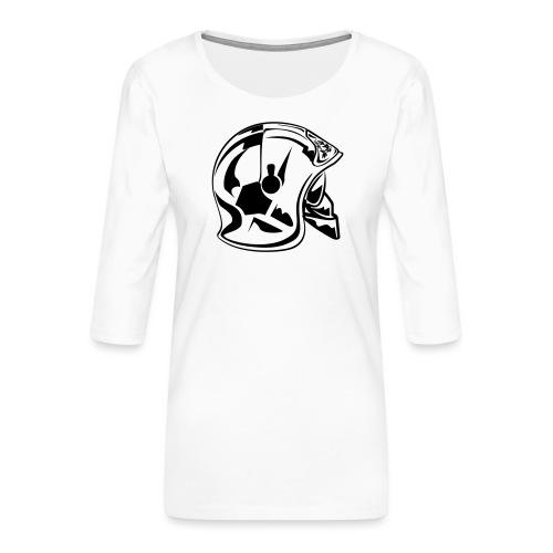 casque_2016 - T-shirt Premium manches 3/4 Femme