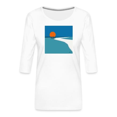 Polynesia - Women's Premium 3/4-Sleeve T-Shirt
