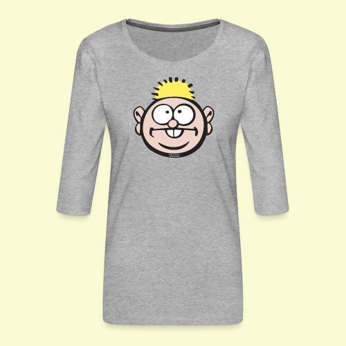 DIRKJAN - Vrouwen premium shirt 3/4-mouw