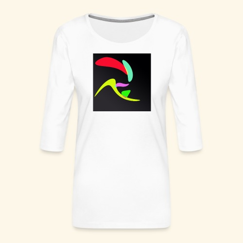 Pop art70 - Maglietta da donna premium con manica a 3/4
