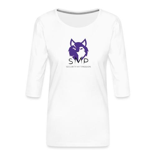 SMP Wolves Merchandise - Frauen Premium 3/4-Arm Shirt