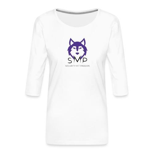 Security mit Passion Merchandise - Frauen Premium 3/4-Arm Shirt