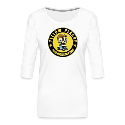 New logo - Naisten premium 3/4-hihainen paita