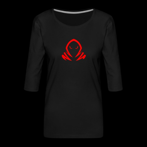 New Official TagX Logo - Naisten premium 3/4-hihainen paita