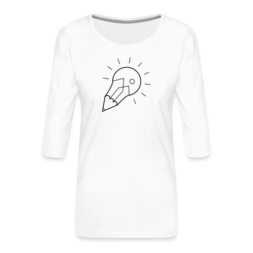 Symbol - Frauen Premium 3/4-Arm Shirt