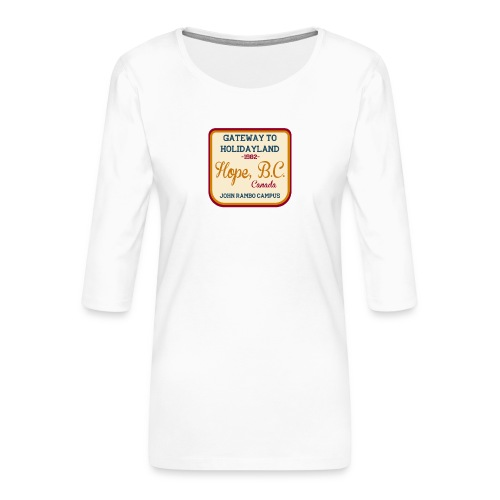 Rambo Hope Holidayland - Koszulka damska Premium z rękawem 3/4