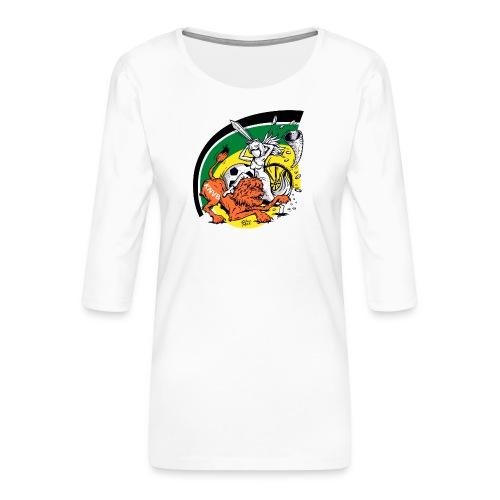 fortunaknvb - Vrouwen premium shirt 3/4-mouw