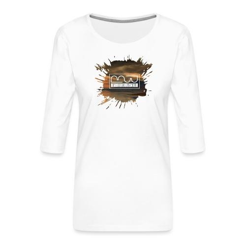 Women's shirt Splatter - Women's Premium 3/4-Sleeve T-Shirt