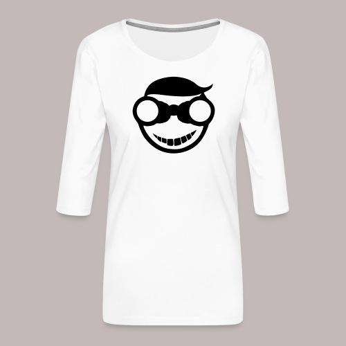 Peeper Donald - Frauen Premium 3/4-Arm Shirt