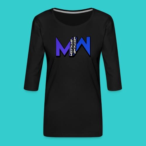 MeestalMip Hoodie - Men - Vrouwen premium shirt 3/4-mouw