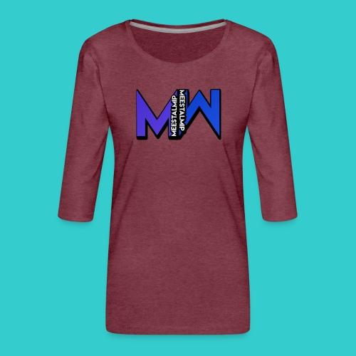 MeestalMip Shirt - Men - Vrouwen premium shirt 3/4-mouw