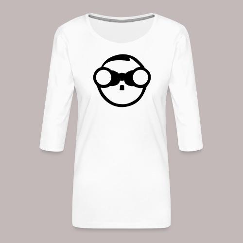 Peeper Adulf - Frauen Premium 3/4-Arm Shirt