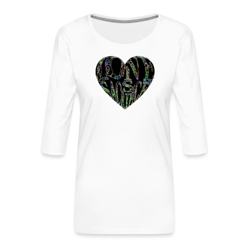 Love Is Sacrifice - Women's Premium 3/4-Sleeve T-Shirt