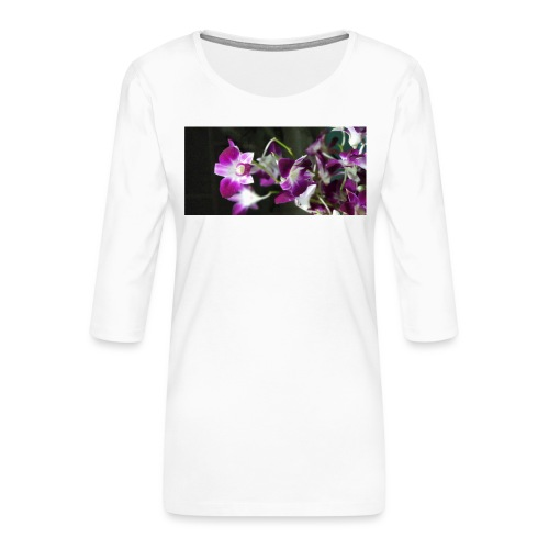 Orchid - Women's Premium 3/4-Sleeve T-Shirt