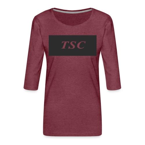 TSC Design - Women's Premium 3/4-Sleeve T-Shirt