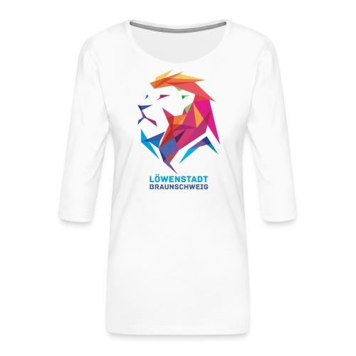 Löwenstadt Design 7 - Frauen Premium 3/4-Arm Shirt
