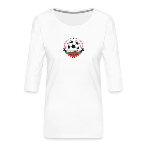 YNDFreesylerz - Galaxy S4 case - Vrouwen premium shirt 3/4-mouw