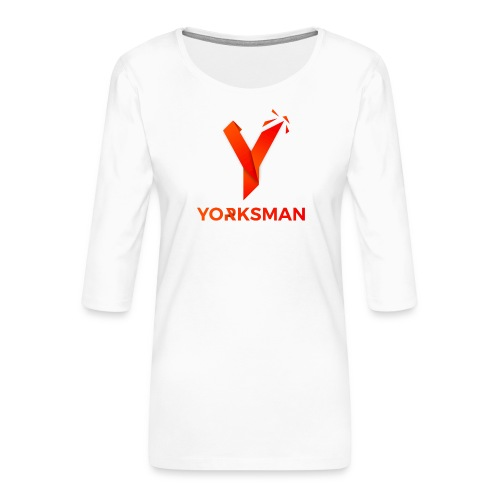 THeOnlyYorksman's Teenage Premium T-Shirt - Women's Premium 3/4-Sleeve T-Shirt