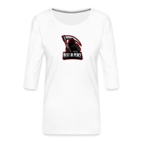 RIP - Frauen Premium 3/4-Arm Shirt