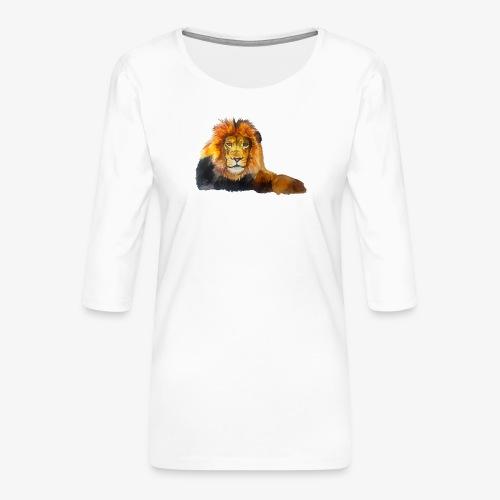 Lion - Women's Premium 3/4-Sleeve T-Shirt