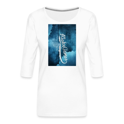SamsungS4Cover4 jpg - Vrouwen premium shirt 3/4-mouw