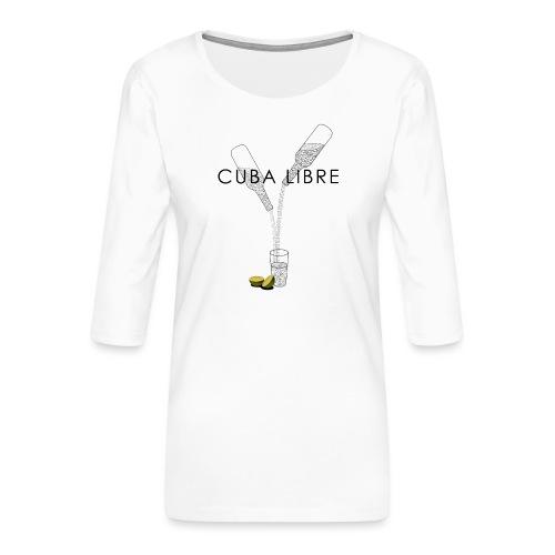 Cuba Libre - Frauen Premium 3/4-Arm Shirt