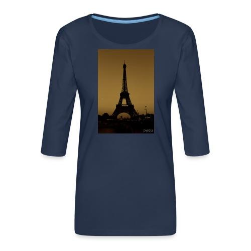 Paris - Women's Premium 3/4-Sleeve T-Shirt
