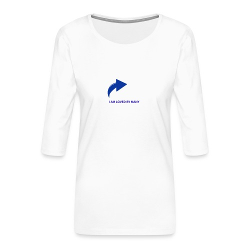 1527348336103 - Premium-T-shirt med 3/4-ärm dam