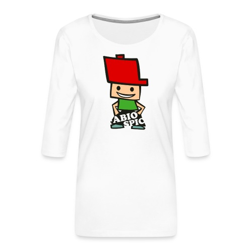 Fabio Spick - Frauen Premium 3/4-Arm Shirt