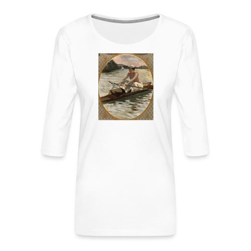 Lady Sculler - Anonyme - T-shirt Premium manches 3/4 Femme
