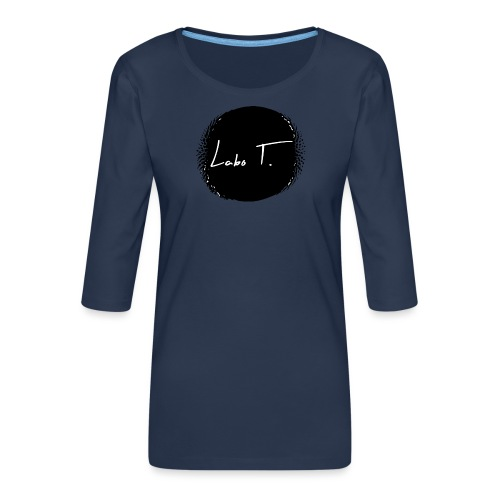 Logo Labo T. - T-shirt Premium manches 3/4 Femme