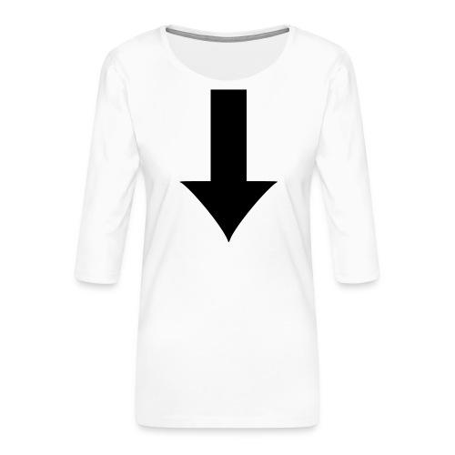 Arrow - Premium-T-shirt med 3/4-ärm dam