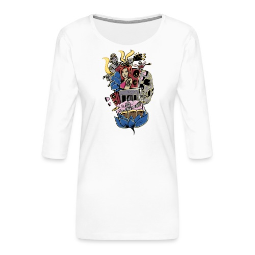 Symphony - Vrouwen premium shirt 3/4-mouw