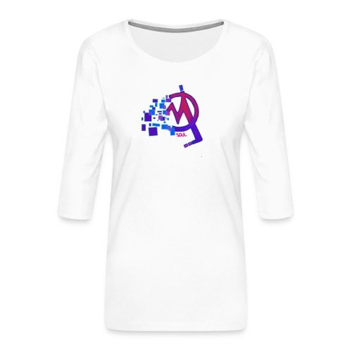 IMG 20200103 002332 - Camiseta premium de manga 3/4 para mujer