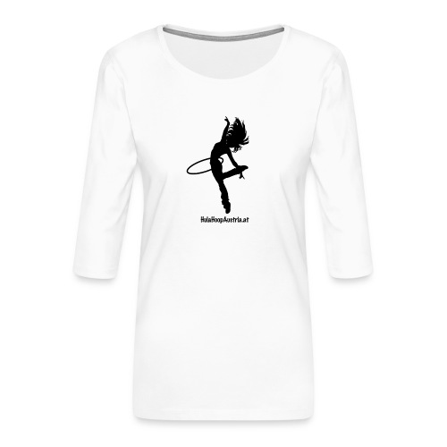 Hoop Dance - Frauen Premium 3/4-Arm Shirt
