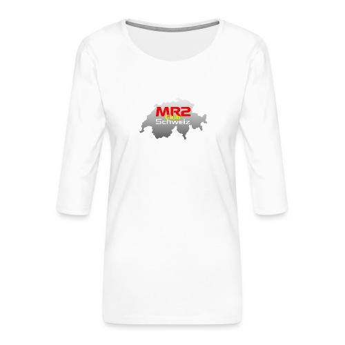 Logo MR2 Club Logo - Frauen Premium 3/4-Arm Shirt