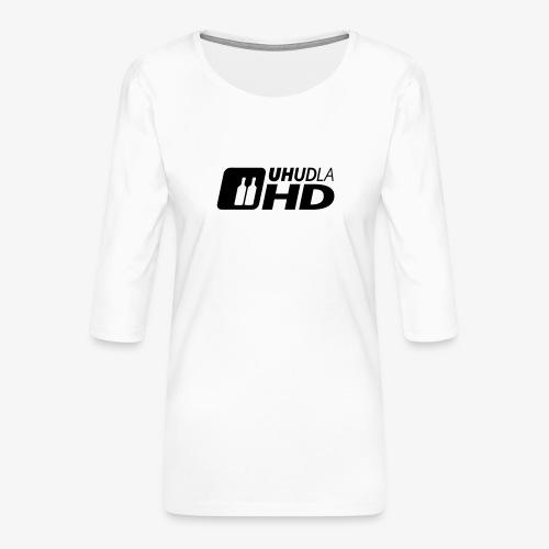 UHUDLA HD – extended Vision - Frauen Premium 3/4-Arm Shirt