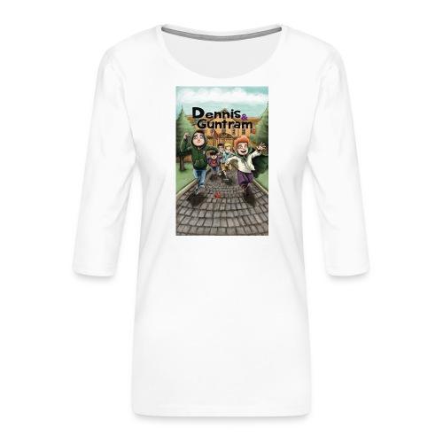 DuG-Band1-Kurztitel - Frauen Premium 3/4-Arm Shirt