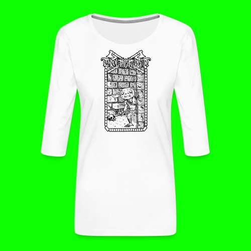 Return to the Dungeon - Women's Premium 3/4-Sleeve T-Shirt