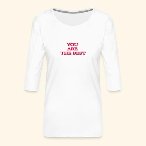 best 717611 960 720 - Dame Premium shirt med 3/4-ærmer