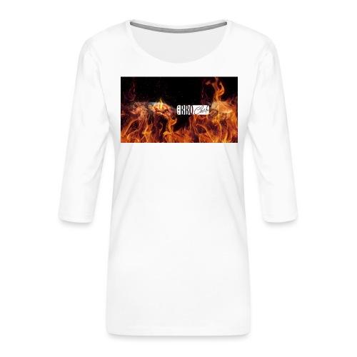 Barbeque Chef Merchandise - Women's Premium 3/4-Sleeve T-Shirt