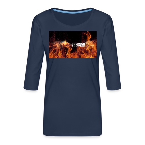 Barbeque Chef Merchandise - Women's Premium 3/4-Sleeve T-Shirt