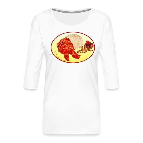 hermid - Frauen Premium 3/4-Arm Shirt