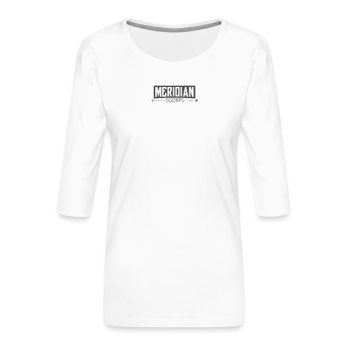 Sgorps Logo - Frauen Premium 3/4-Arm Shirt