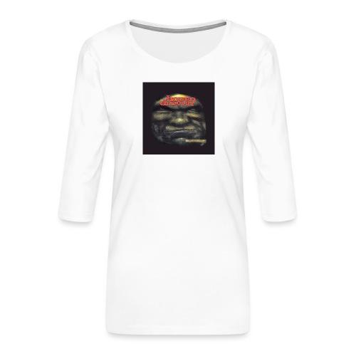 Hoven Grov knapp - Women's Premium 3/4-Sleeve T-Shirt