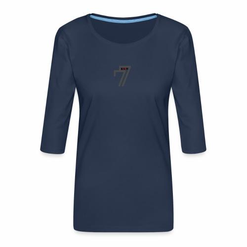 BORN FREE - Women's Premium 3/4-Sleeve T-Shirt