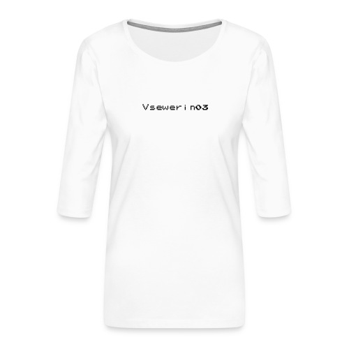 vsewerin03 exclusive tee - Dame Premium shirt med 3/4-ærmer