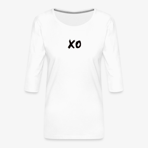 XO. - Women's Premium 3/4-Sleeve T-Shirt